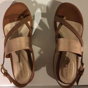 Cole Haan sandals never worn!